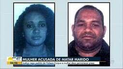 Mulher acusada de matar marido deve permanecer presa