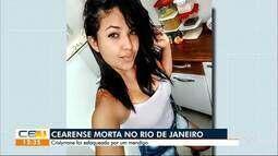 Cearense é assassinada por mendigo no Rio de Janeiro