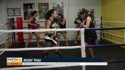 Muay Thai atrai mulheres em Governador Valadares