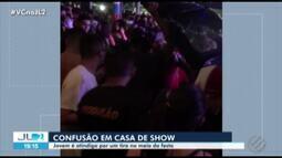 Jovem é baleado dentro de casa de show da Cidade Velha