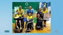 Paratleta de MS conquista bicampeonato brasileiro de bocha