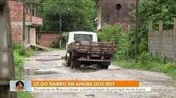 Zé do bairro vai até Angra dos Reis, conferir reclamação de moradores do Bracuí