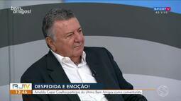 Arnaldo Cezar Coelho participa do último Bem Amigos como comentarista