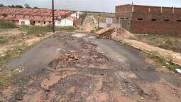 Moradores do Vale do Perucaba enfrentam problemas por falta de saneamento em Arapiraca