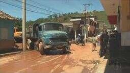 Cidade Imbé de Minas tenta voltar ao normal depois da forte chuva da ultima segunda-feira