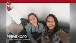G1 em 1 Minuto - Santos: Mãe e filha mortas foram atingidas por raríssimo raio do céu azul