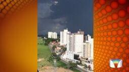 Telespectador registra chegada da chuva em São José