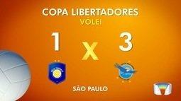 Taubaté perde para o San Juan na Libertadores de vôlei