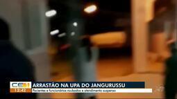 Bandidos roubam funcionários e pacientes na UPA do Jangurussu