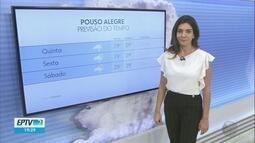 Confira a previsão do tempo para esta quinta-feira (17) no Sul de Minas