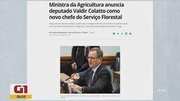 Deputado Valdir Colatto é novo chefe do Serviço Florestal de SC