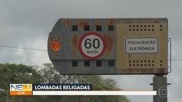 Lombadas eletrônicas voltam a funcionar em estradas administradas pelo governo de PE