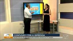 'Esporte no JT': estreias no Parazão, empate do Pantera, confusão com imprensa e mais