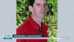 Dono de pousada é morto e assassino deixa recado escrito com sangue, no ES