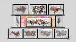 Arte: veja obras da exposição 'Pele e Sombra', de Magna Sperb