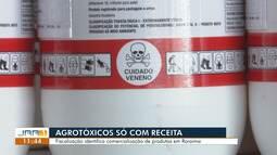Crea fiscaliza comercialização de agrotóxicos em Roraima