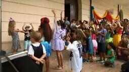 Pré-carnaval começa com animação para as crianças em Juiz de Fora