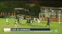 Altos perde para o Confiança na Copa do Nordeste