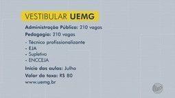 Uemg tem vagas abertas para dois cursos à distância