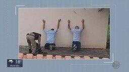 Dois homens são presos em roubo a casa de médico em Varginha, MG