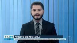 Audiência pública discute projeto 'Cidade Limpa' na Câmara de Nova Friburgo, no RJ