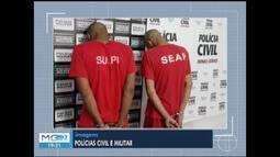 Dois homens são presos suspeitos de envolvimento na morte de empresário em Pirapora