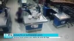 Grupo é detido após assalto a supermercado em Uberlândia