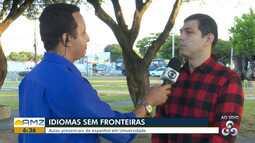 Idioma Sem Fronteiras abre inscrições para curso de espanhol em Boa Vista