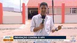 Unidades básicas de saúde de Santana faz ações de prevenção contra o HPV