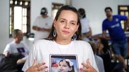 A mãe de Maria Clara deu depoimento para a RPC