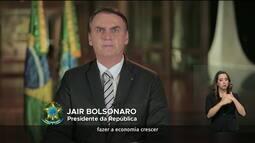 'A nova Previdência será justa para todos', diz Bolsonaro em pronunciamento à nação