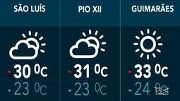 Confira as variações do tempo nesta quinta-feira (21) no Maranhão