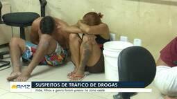 Família é presa por suspeita de tráfico de drogas na zona Oeste de Boa Vista