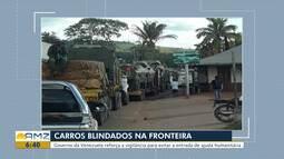 Movimentação de tanques são registrados próximo à fronteira da Venezuela com o Brasil