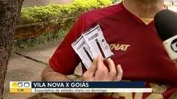 Goiás e Vila Nova se enfrentam pelo Campeonato Goiano