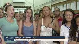 Escola de Itanhaém, SP, cobra que Prefeitura faça estudo de solo do local