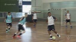 Equipe sub-18 de futsal de Santos inicia os trabalhos da temporada