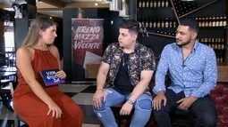 Confira conversa com dupla sertaneja Breno Mazza e Vicente.