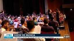 Acompanhe ensaio da Orquestra Jovem de Goiás
