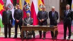 Líderes sul-americanos se reúnem no Chile para a criação da Prosul