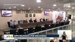 Em busca de melhorias, APPs se reúnem na Câmara de Vereadores de Blumenau