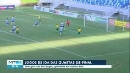Confira resultados dos jogos de ida das quartas-de-final do Mato-grossense 2019