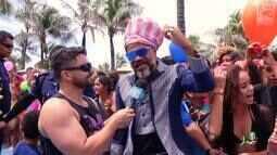 Carlinhos Brown e Júlia Dantas participam do Dia da Alegria em ação especial no Ceará