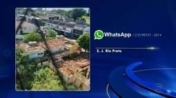 Confira as reclamações enviadas pelos telespectadores ao WhatsApp da TV TEM