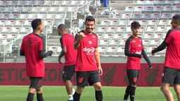 Athletico treina forte para virada no Paranaense