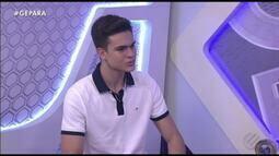 Vencedor do Anel Pódium, Enzo Sá participa do Globo Esporte PA