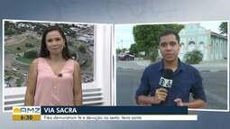 Igreja Católica faz programação especial para encenar a Via Sacra em Boa Vista