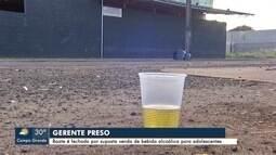 Gerente de boate é preso suspeito de vender bebida alcoólica para menores