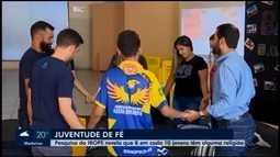 Cresce número de jovens que participam de ações religiosas em Divinópolis