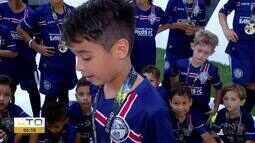 Jogadores mirins levam a vitória para o Tocantins no Go Cup